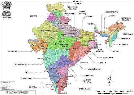 Hindistan Siyasi Haritası