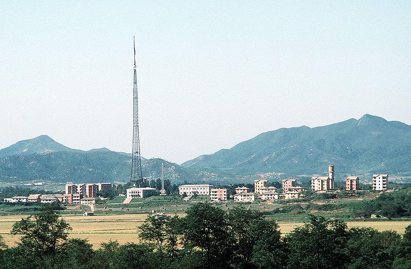 1024px-North_Korean_village_Kijong-dong.