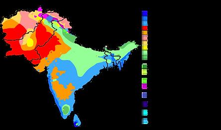 Hindistan İklim Haritası