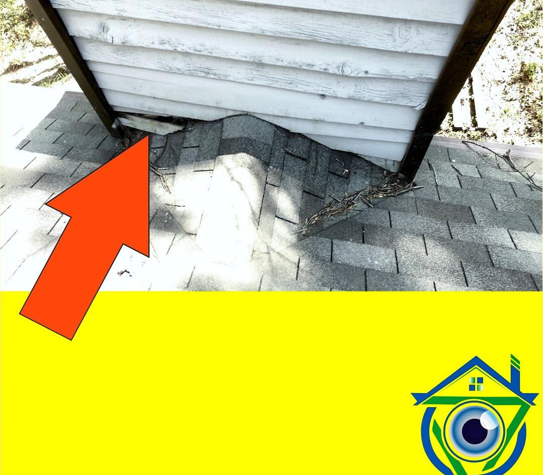 Chimney (Cricket) damaged