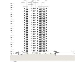 Habitação Social Santos - Projeto