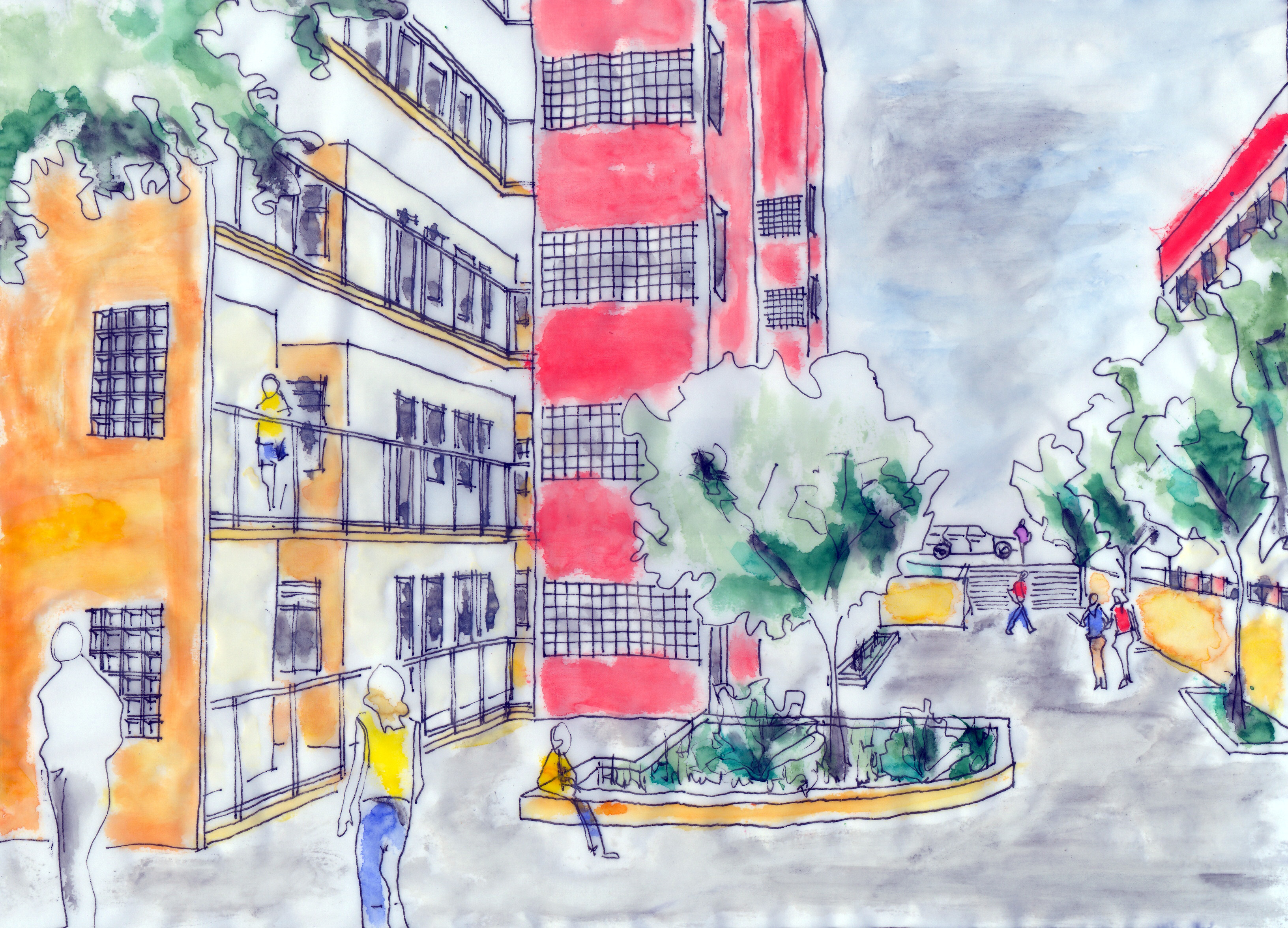 Social Housing - Architectural Study