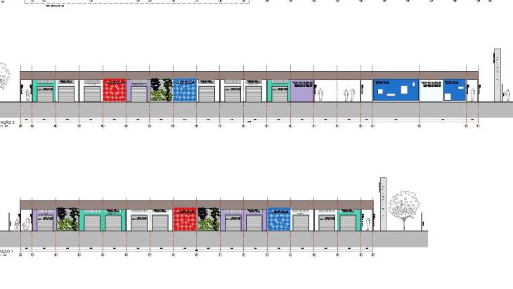 Centro Comercial Bela Vista Projeto
