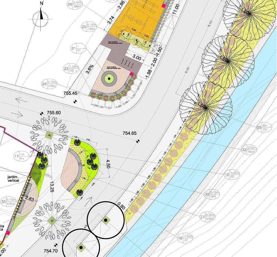 Urbanização Aricanduva - Projeto