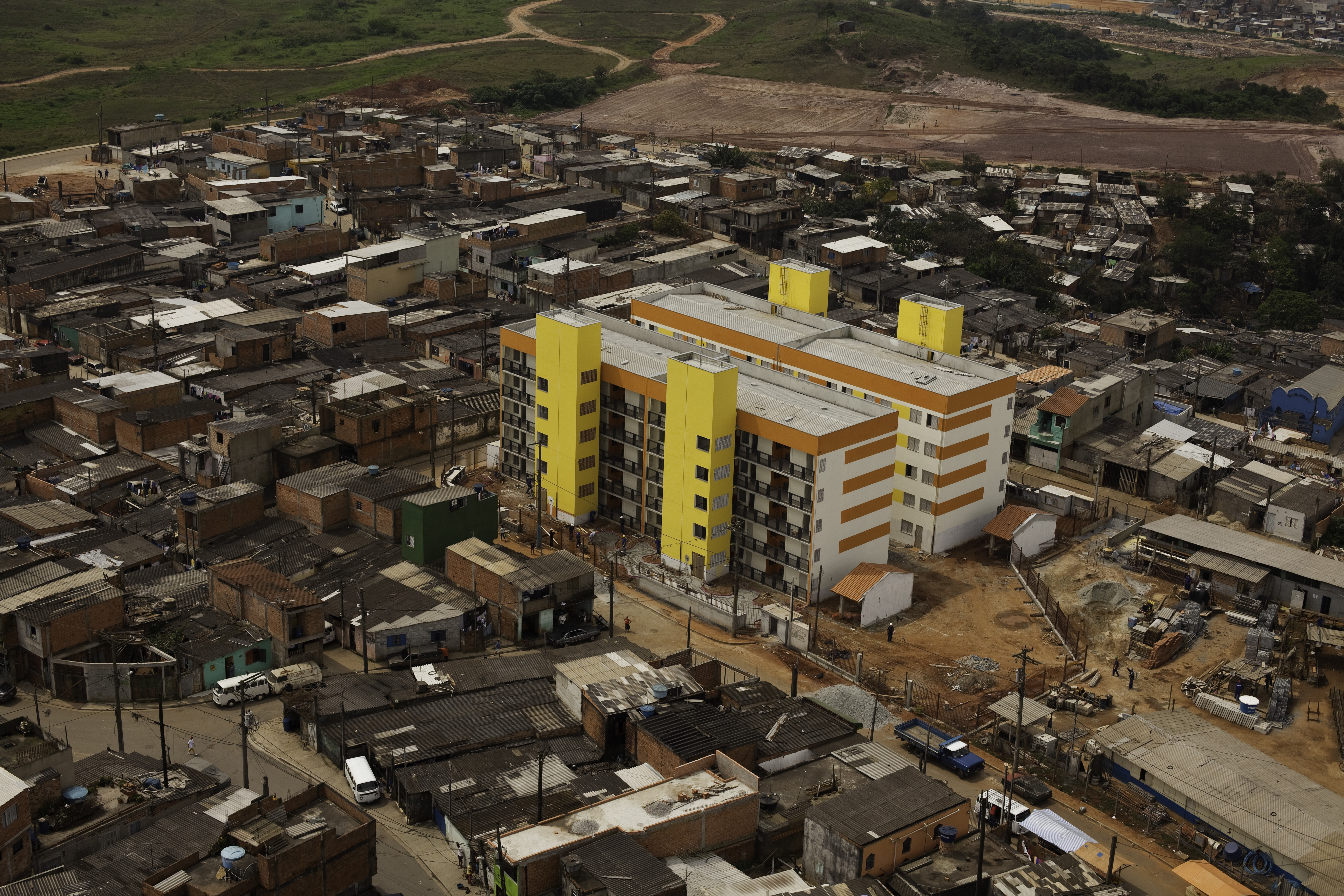 Social Housing - Aerial View 02