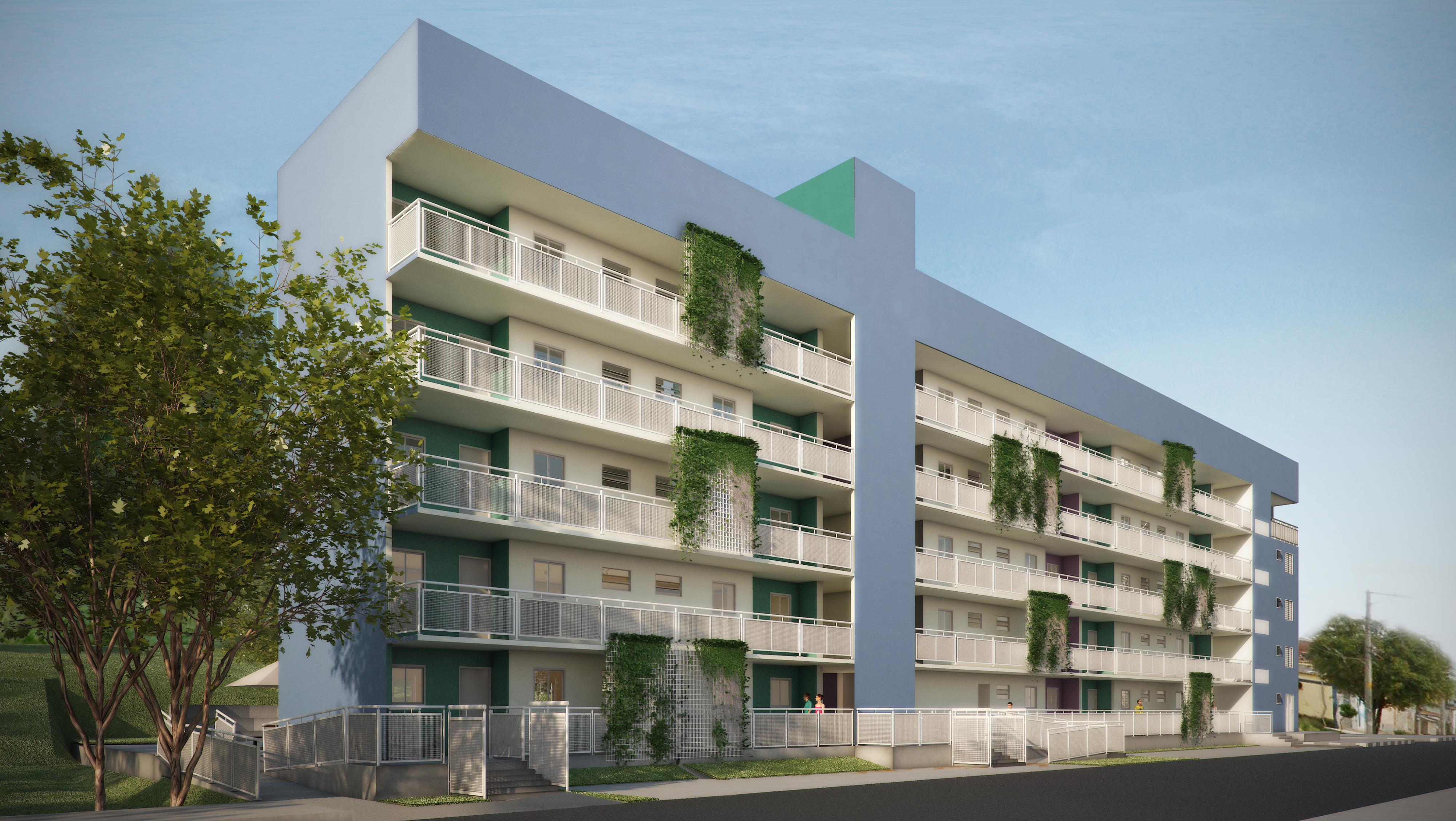 Social Housing - São Paulo - Study