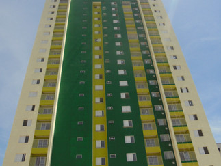 Official opening of Social Housing in Santos
