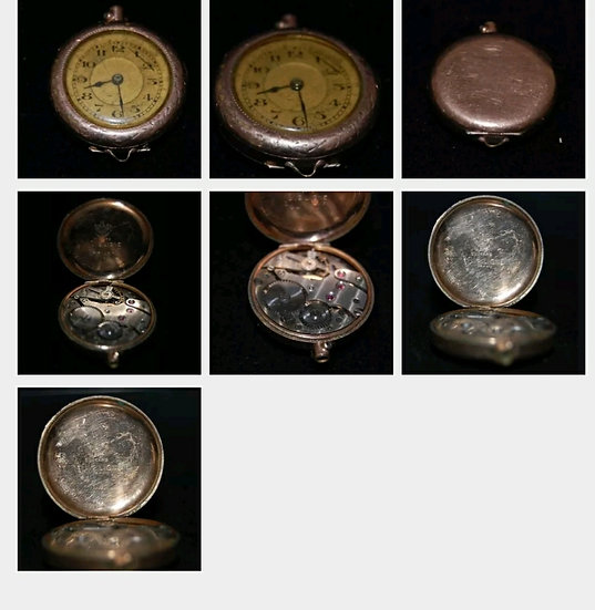Pocket Watch Gold Filled S.W.C 20 years