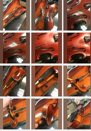 Vintage Violin by John Juzek Prague made in Germany