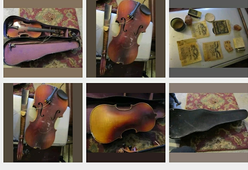Antique 1920s Violin