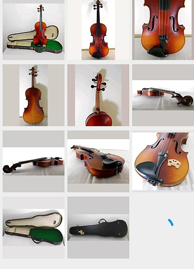 Antique Violin Made in Germany 1920s