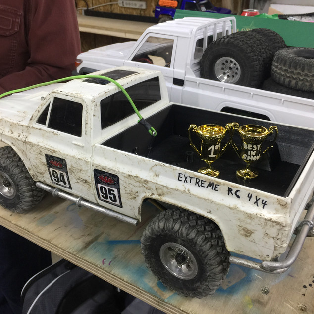 First Win For The Terramight Chassis