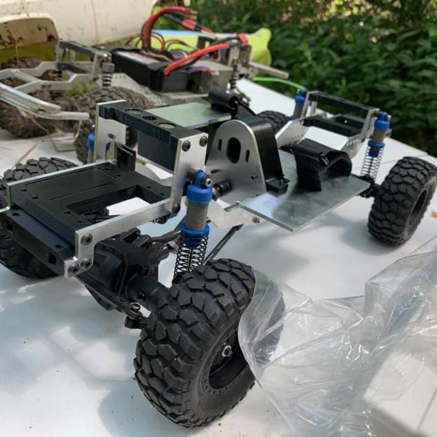 Showing first prototype in N. Inidan