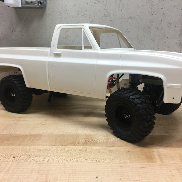 First fitments of the Clodbuster body
