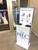 Distributeur école HEC