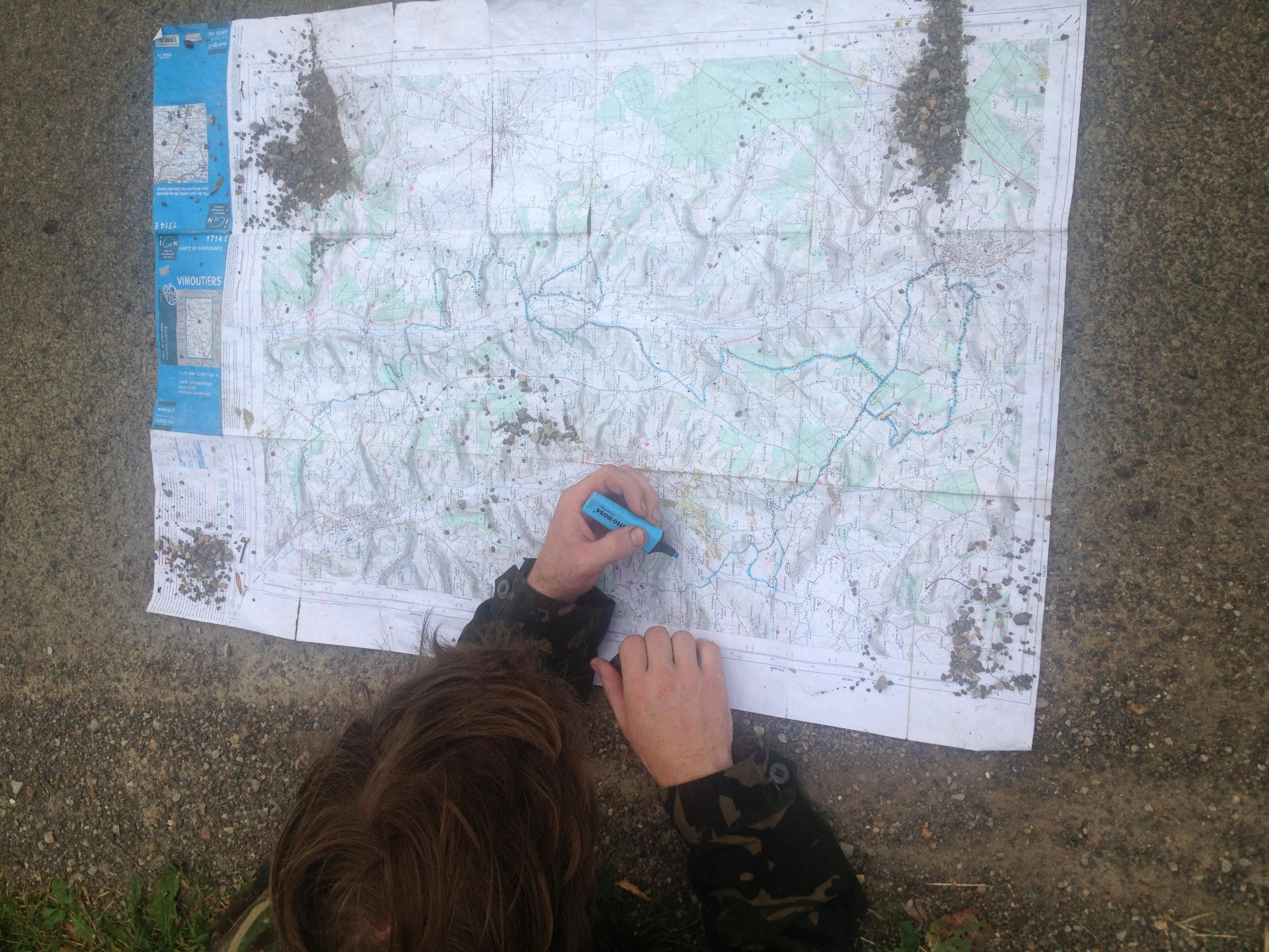 maps enduro normandy