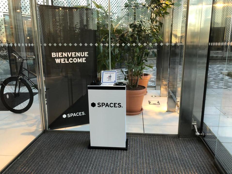 Distributeur Spaces La Défense
