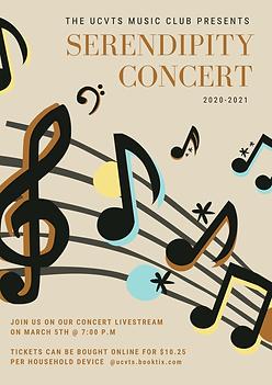 Music Club 2020-2021 Serendipity Concert