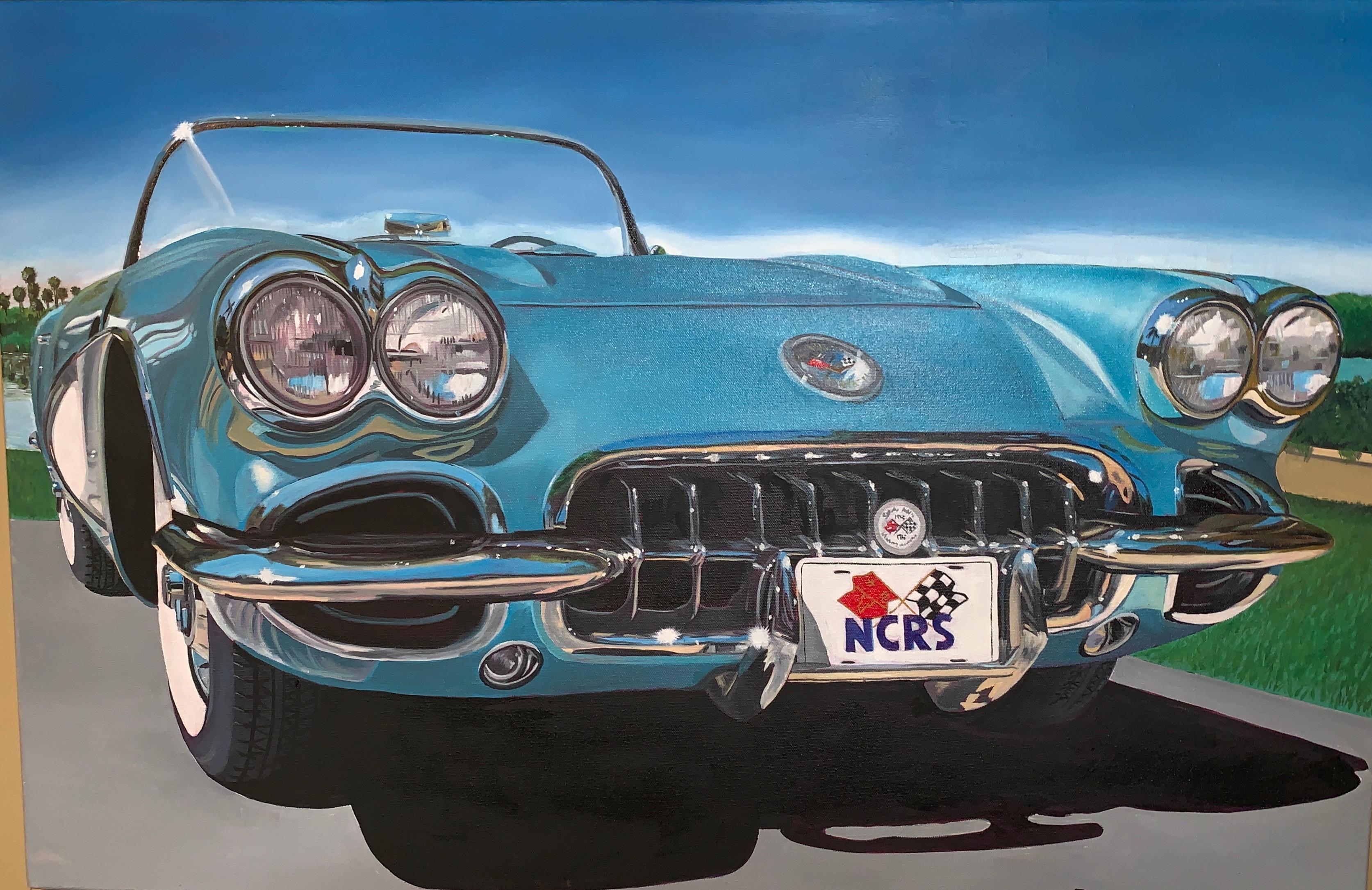 Little Blue Corvette