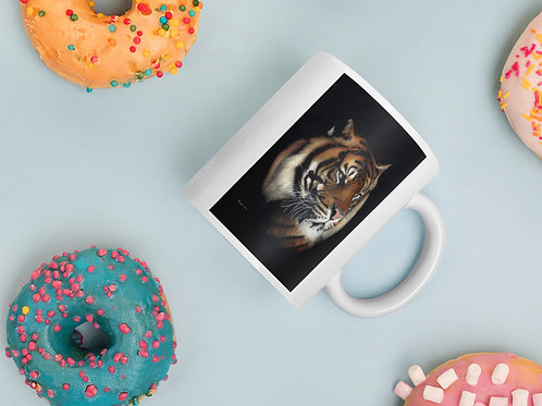 Mug with my original 'Rajah' Tiger artwork