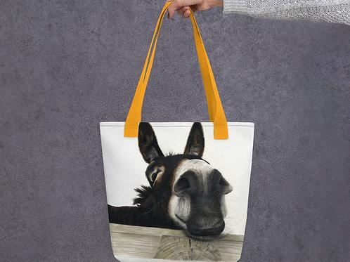 Tote bag with my original 'Hee Haw' Artwork