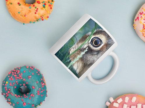 Mug with my original 'Nut Brown Hare' artwork