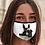 Thumbnail: Face Mask with original artwork 'Donkey'