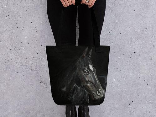 Tote bag with my original 'Dark Horse' artwork