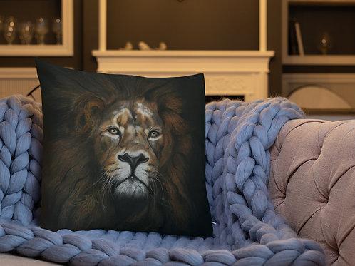 Premium Pillow with my original 'Mufasa' Artwork