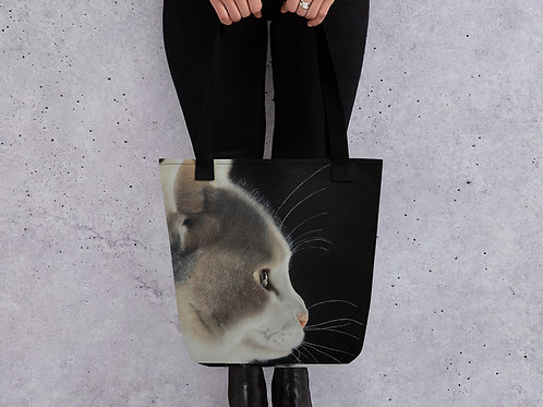 Tote bag with my original 'Lumi' artwork