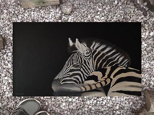 Doormat  with my original artwork 'Swish and flick'