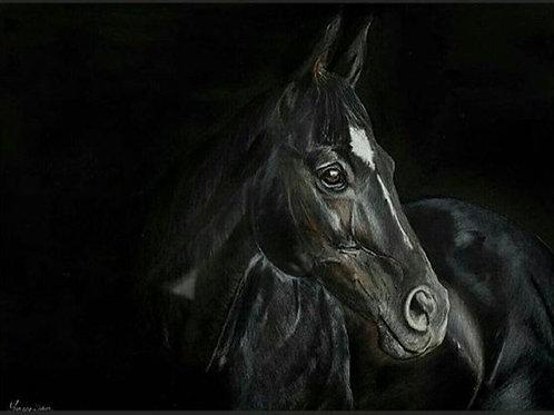 'Dark Horse' Print