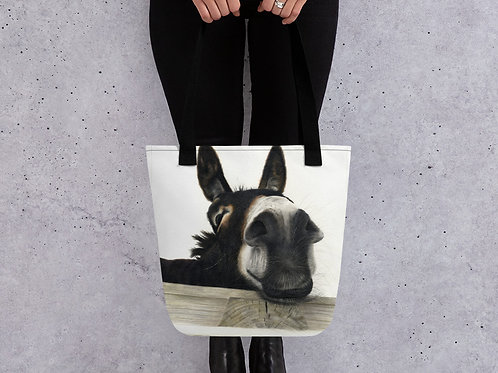 Tote bag with my original 'Hee Haw' Artwork