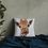 Thumbnail: Premium Pillow with 'Cheeky Giraffe' Artwork