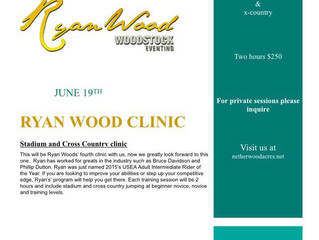 Ryan Wood Clinic June 19, 2016