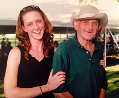 Krissy and her father, Bob Smith