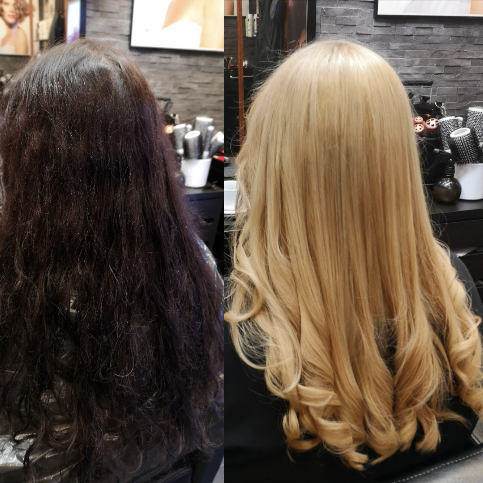 niloufar coiffeuse .transformation