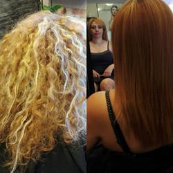 Niloufar coiffeuse,méche+kératine