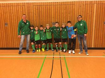 F1 des SV Burlo spielte am Wochenende 2 Hallenturnieren in Borken und Gescher