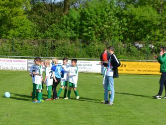 F2 des SV Burlo gewinnt auch Lokalderby gegen die F2 von Adler Weseke
