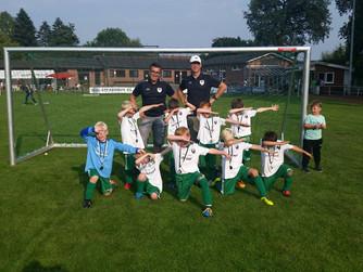F2 SV Burlo startet erfolgreich in die Saison mit Turnier in Oeding