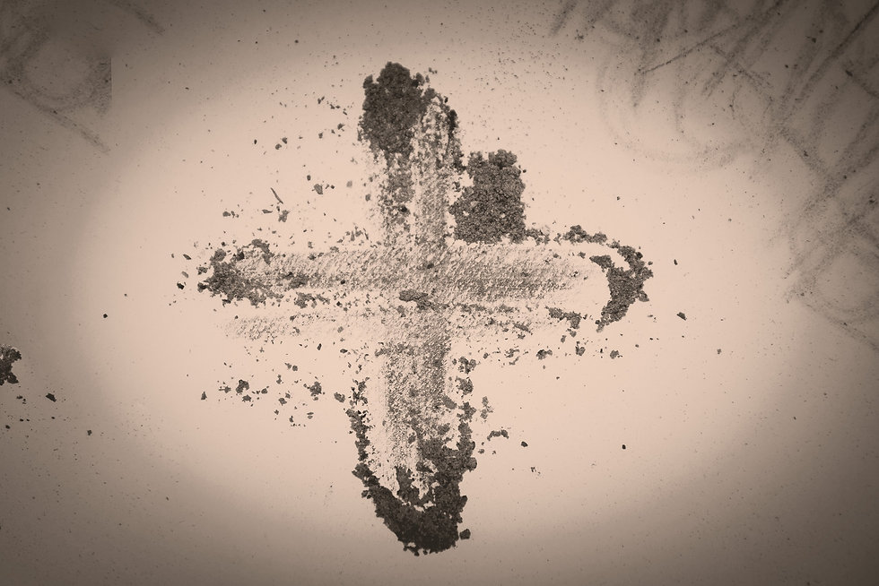 Cross%20made%20of%20ashes%2C%20Ash%20Wed