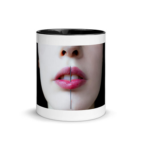 Mouth Mug with Color Inside