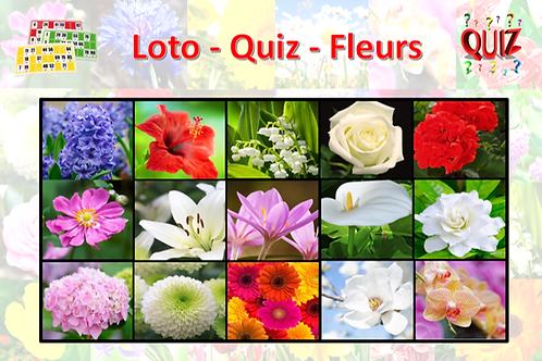 Concept Loto / Quiz - Fêtes & Fleurs