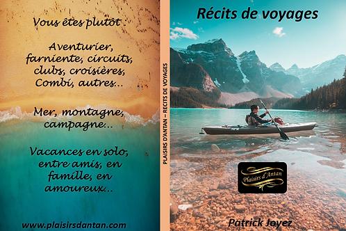 Livre A4 Récits de voyages - Patrick Joyez