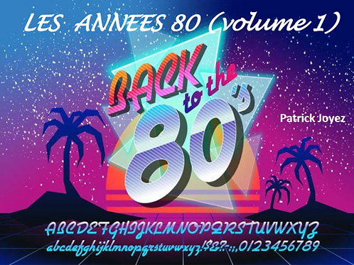 Livre Animation + Clé USB ou DVD - Années 80 (volume 1)