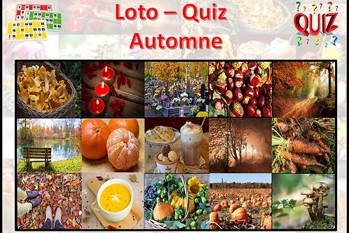 Concept Loto / Quiz - Balade automnale
