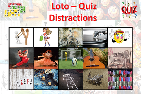 Concept Loto / Quiz - Plaisirs d'antan - Distractions
