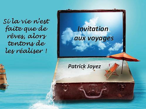 Livre Animation + Clé USB ou DVD - Invitations aux voyages