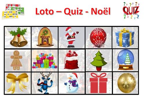 Concept Loto / Quiz - Noël et ses secrets